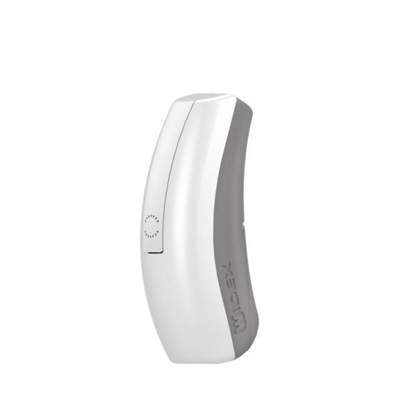 Widex-EVOKE-PA-Standalone-Silver-grey-Grey-Hearing-aid